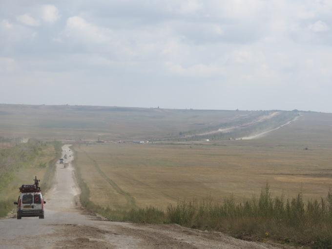 En route to Actobe, Kazakhstan.