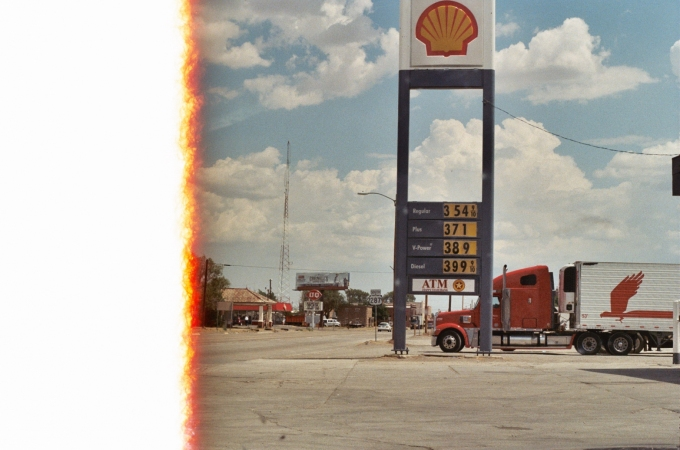Gas Station (End of Roll)