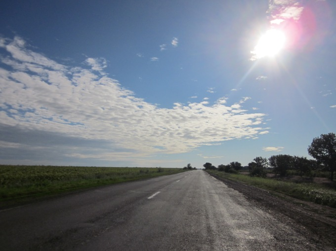 chughes - open road in eastern Europe