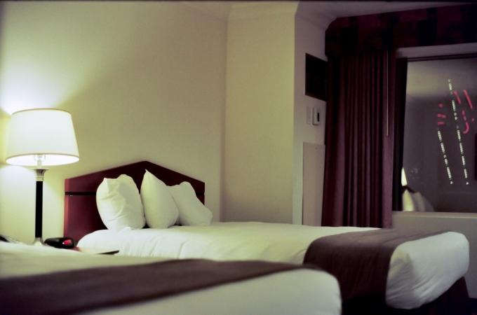 Vegas Hotel Room