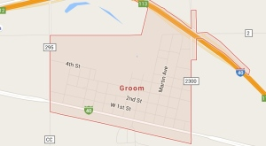 Groom Texas Map
